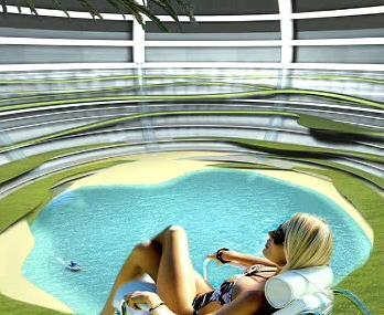 Design možného odpočinkového střediska