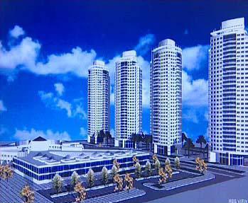 Plánovaný bytový komplex v Aši