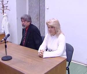 Libuše Barková u soudu