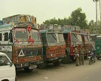 Stávka indických dopravců