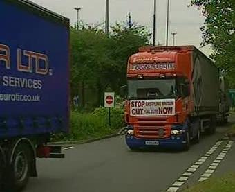 Stávka britských dopravců