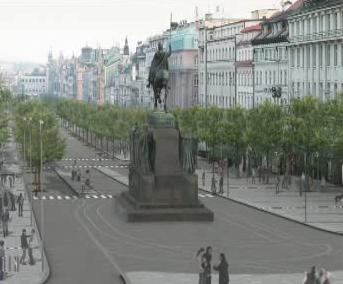 Možná budoucí podoba Václavského náměstí