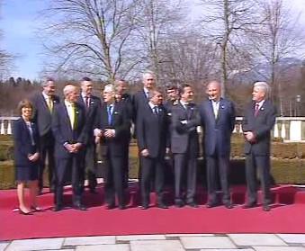 Jednání EU a USA ve Slovinsku.