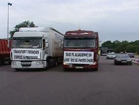 Protesty dopravců