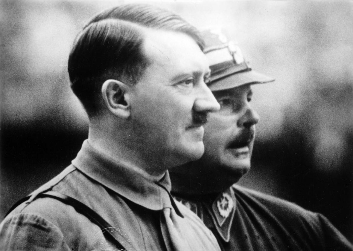 Adolf Hilter a Ernst Röhm