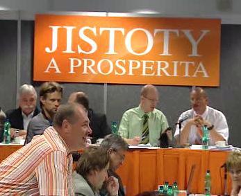 Jednání Ústředního výkonného výboru ČSSD