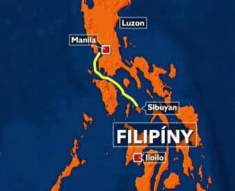 Mapka Filipín
