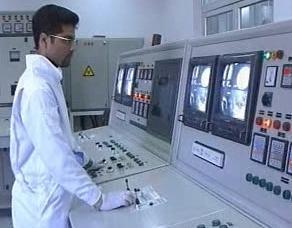 Pracovník v jaderné elektrárně