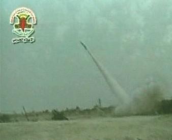 Vystřelená raketa