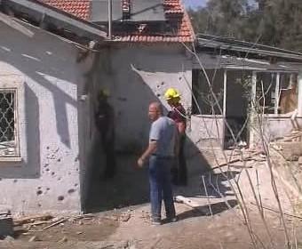 Následky palestinského útoku