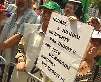 Protesty proti reformě
