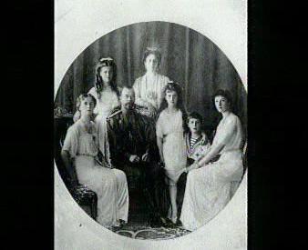 Rodina ruského cara Mikuláše II.