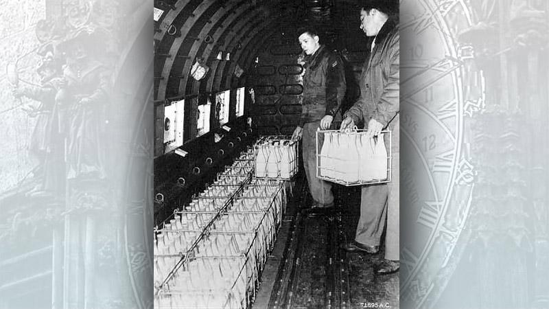 Transport mléka do západního Berlína