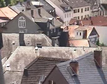 Střechy domů