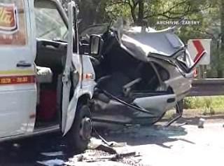 Havárie na objížďce D8