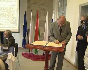 Slavnostní založení Středoevropského fóra Olomouc