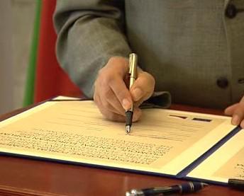 Slavnostní podpis