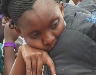 Rwandská dívka