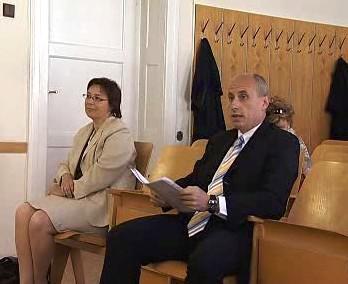 Iveta Táborská u soudu