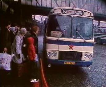 Autobus ČSAD na pražské Florenci