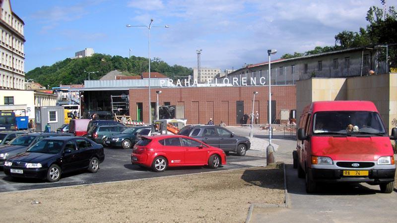 Odbavovací hala nádraží Florenc