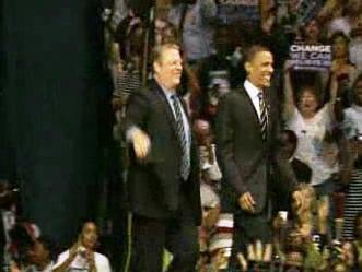 Al Gore podpořil Obamu