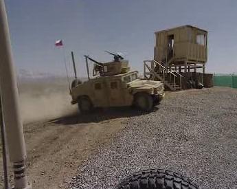Základna v Afghánistánu.