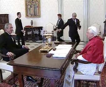 Bushova audience u papeže