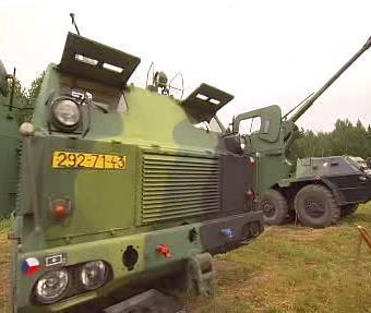 Bahna 2008 - vojenská přehlídka
