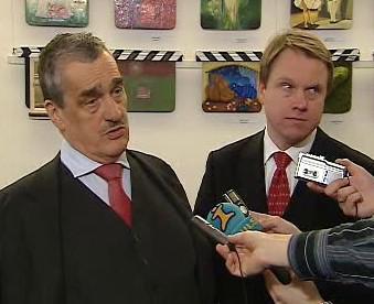 Karel Schwarzenberg a Martin Bursík