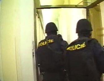 Zásah policie při nucené zprávě v IPB
