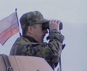 Český voják jednotky KFOR