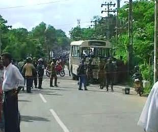 Výbuch autobusu