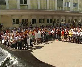 Protest německých zemědělců