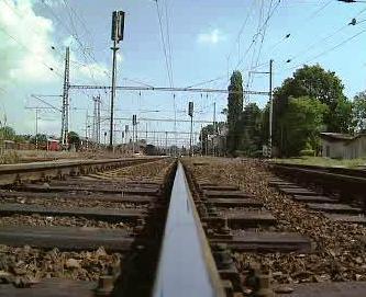 Stávka na železnici