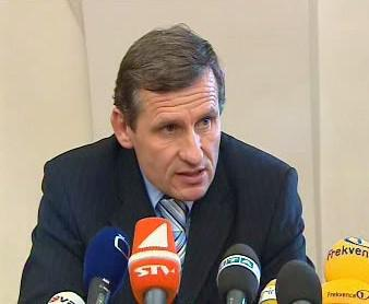 Jiří Čunek na tiskové konferenci