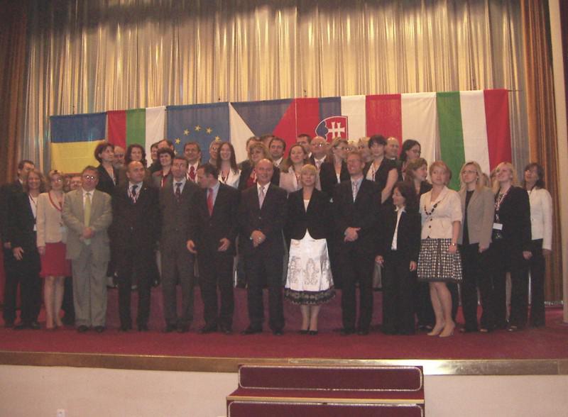 Zástupci zemí V4, Bulharska a Rumunska