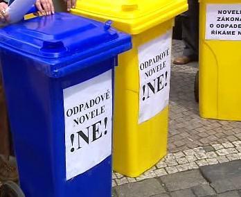 Protest proti odpadové novele