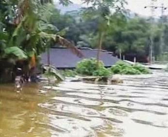 Záplavy v Asii
