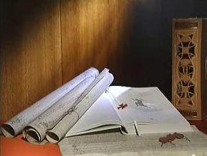 Dokumenty o templářích