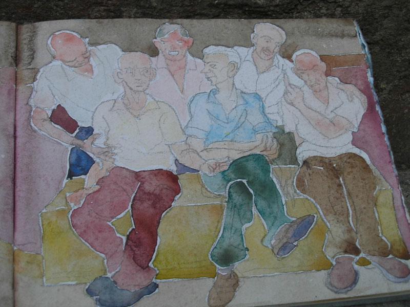 Tomáš Císařovský: Akvarel