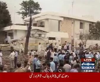 Výbuch před ambasádou