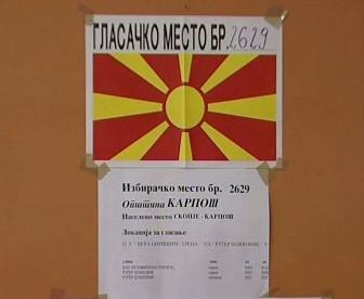 Předčasné parlamentní volby v Makedonii