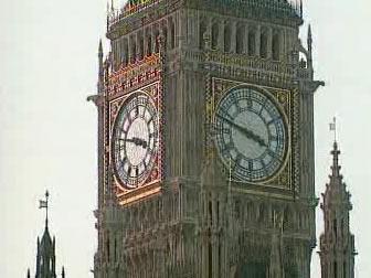 Londýnský Big Ben
