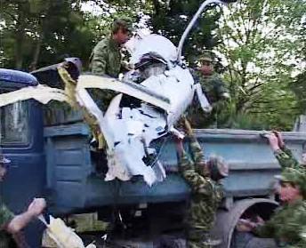 Sestřelený průzkumný letoun