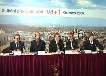 Setkání předsedů vlád V4