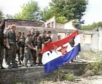 Chorvatští vojáci bojující za nezávislost