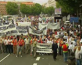 Stávkující odboráři