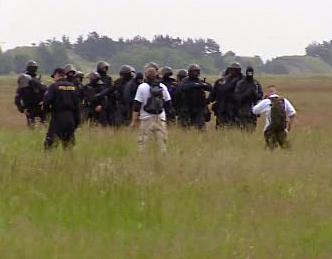 Cvičení policistů