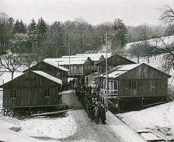 Ubytovny nuceně nasazených v nacistickém Německu